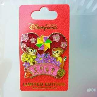 香港迪士尼限量徽章 襟章 Disney LE Pin