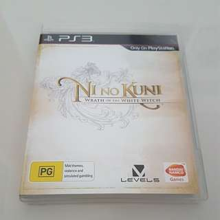 PS3 Game - Ni No Kuni - Wrath of the white witch