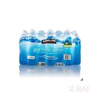 Kirkland Signature 科克蘭 飲用水 1公升 X 21瓶