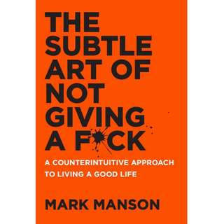 [PDF] The Subtle Art of Not Giving a Fuck by Mark Manson E-book