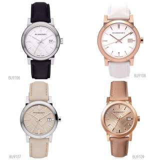 🆕Burberry The City Ladies Leather Watches