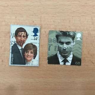 UK Stamps | British Royals