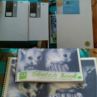Mont Martes sketch books,Studio cotton duck,Studio canvas 280 cotton duck