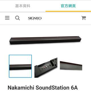 Nakamichi SoundStation 6A