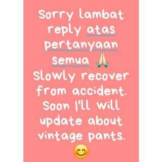 Sorry 🙏