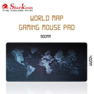World Map Gaming Mouse Pad / Mousepad