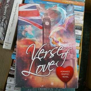 Verse Of Love (Romance Graphic Novel) By Rebecca M. Bath