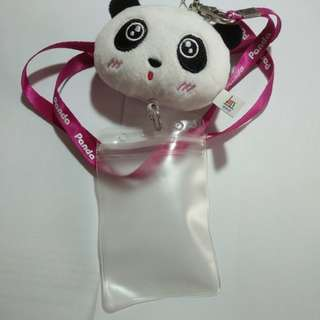 panda card over the head holder