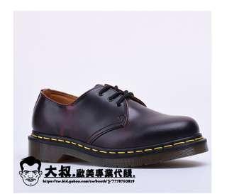 【大叔歐美代購】Dr.Martens 1461 馬汀靴 3孔  馬汀大夫 經典款 / 復古低幫 / 美國代購 可分期!