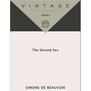 [e-book] The Second Sex by Simone De Beauvoir