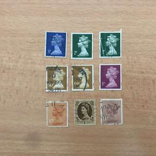 UK Stamps | Queen Elizabeth
