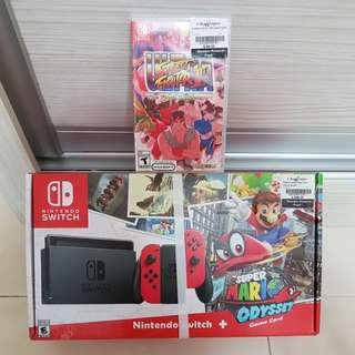 Nintendo Switch + Ultra Street Fighter 2