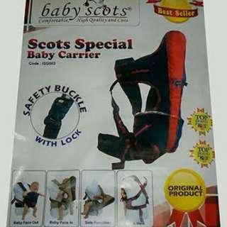 Baby scots gendongan