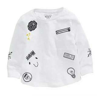 Original Authentic NEXT UK Brand Long Sleeves Kids Toddler Unisex Shirt Sweater