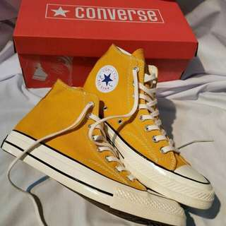 "SEPATU CONVERSE ALL STAR CT 70s HIGH N LOW ""SUN FLOWER"""