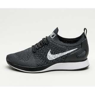 Nike Air Zoom Flyknit Racer Mariah Black White Dark Grey