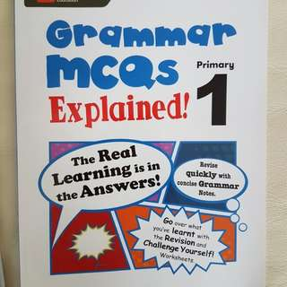 Marshall Cavendish primary 1 English workbooks