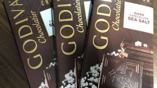Godiva Dark Chocolate Sea Salt