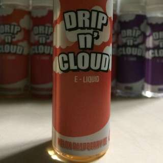 Vape e-Juice | Melon Raspberry Ice 65ml 3mg Drip N Cloud