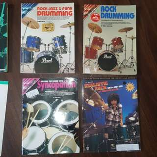 Rock Drumming Books With CD