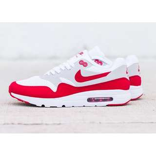 NIKE AIRMAX 1 ULTRA ESSENTIAL VARSITY RED AUTHENTIC BNIB