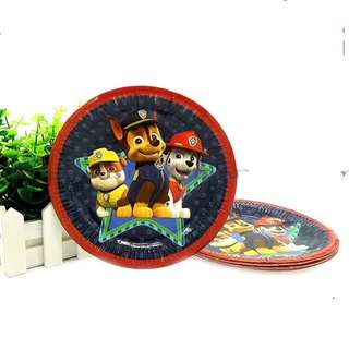 🐾 Paw Patrol Party Supplies - party plates