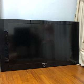 "$120 for a 49"" Samsung Plasma TV, with remote control."