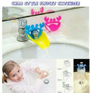 Alat bantu cuci tangan anak, penyambung keran, kran air
