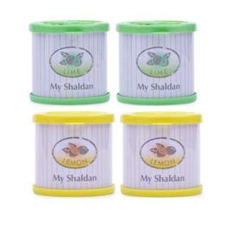 My Shaldan Car Freshener Lemon + Lime (Set of 2)