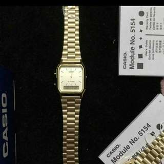 Casio Vintage watch dual time