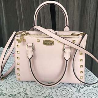 Michael Kors Pink Satchel Bag