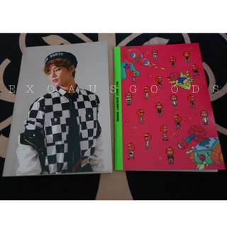 NCT 127 Cherry Bomb Notebook