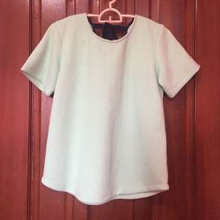 Forme Mint Green Top