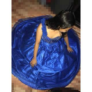 Royal Blue Gown for Sale