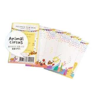 Mini Film Skin-Animal Circus [10pcs]