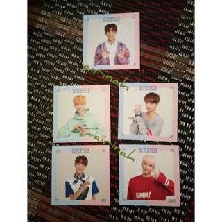 WTS Seventeen SG photocard