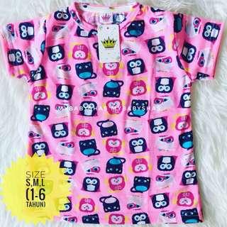 Kaos Anak Full Print
