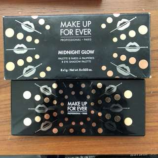 Make Up For Ever Midnight Glow Eyeshadow Palette