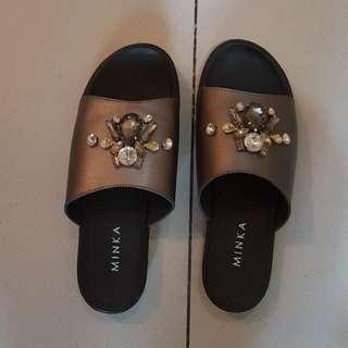 Minka bejewelled sandals