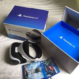VR playstation