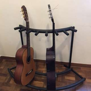 Guitar stand / rack for 7 guitars