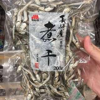 日本小魚乾