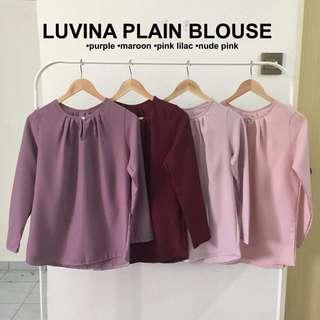 Luvina plain blouse