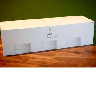 Brand new sealed Google wifi (box of 3)