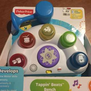 Fisher Price Tappin Beat Bench