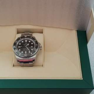 Rolex Sea-Dweller Deepsea 116660 steeless steel 唔係.D-Blue 黑十