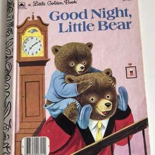 Good Night Little Bear - Little Golden Book