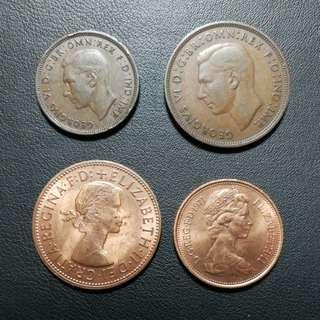 每個英國硬幣