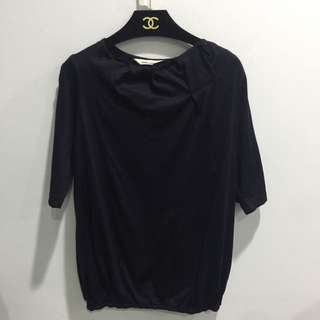 Tiffany衣櫃 專櫃設計師品牌質感 領口抓皺上衣