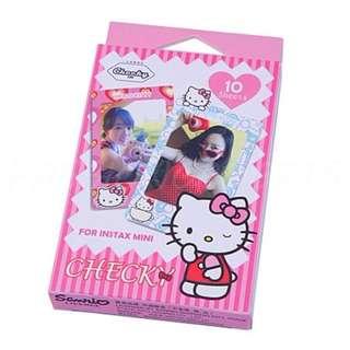 Mini Film Skin Stickers- Hello Kitty Pink [10pcs]